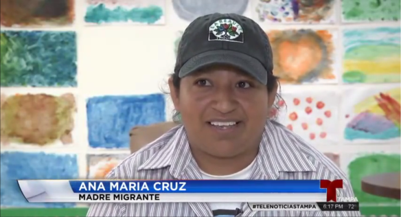 Ana Maria Cruz, farmworker parent, shares in the interview how La Familia center has helped her children.