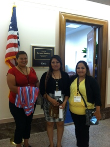 ECMHSP parents and staff visit members of Congress to educate them on the benefits of Head Start programs for the farmworker community.