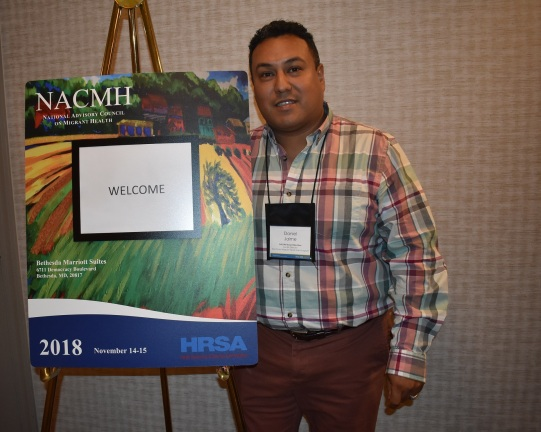 Daniel Jaime at NACMH