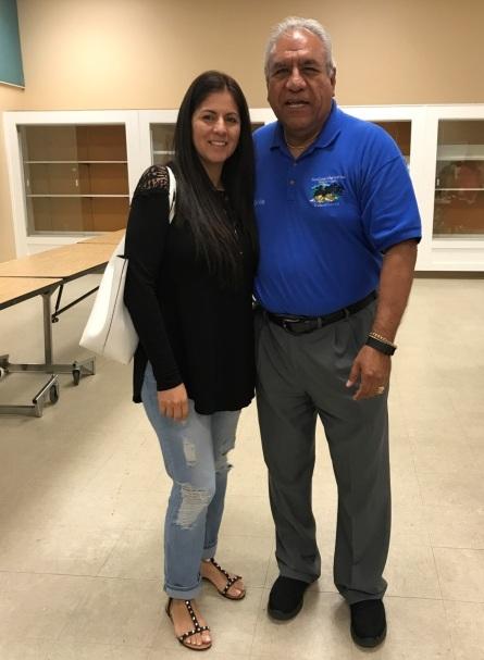 Idalia and Dr. Villa